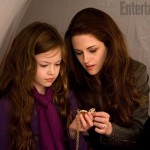 Mackenzie Foy and Kristen Stewart in Breaking Dawn Part 2