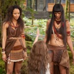 Tracey Heggins and Judith Shekoni in Breaking Dawn Part 2